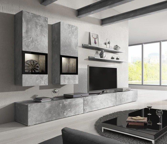 moderne veggene