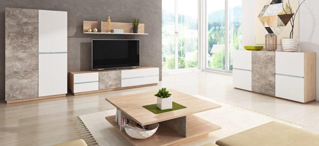 moderne kommode i stuen