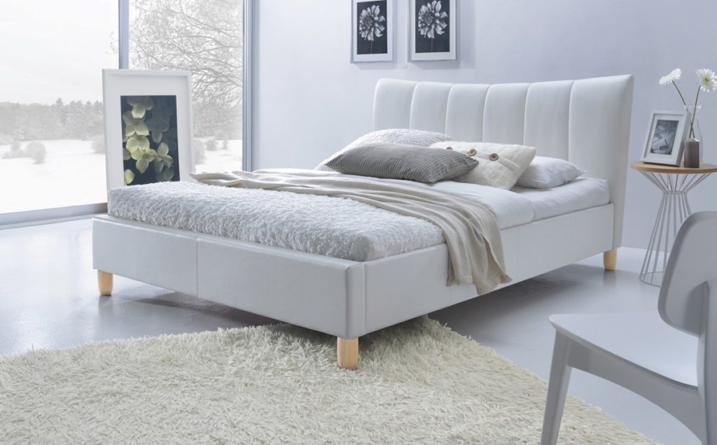 skandinavisk senger til soverom