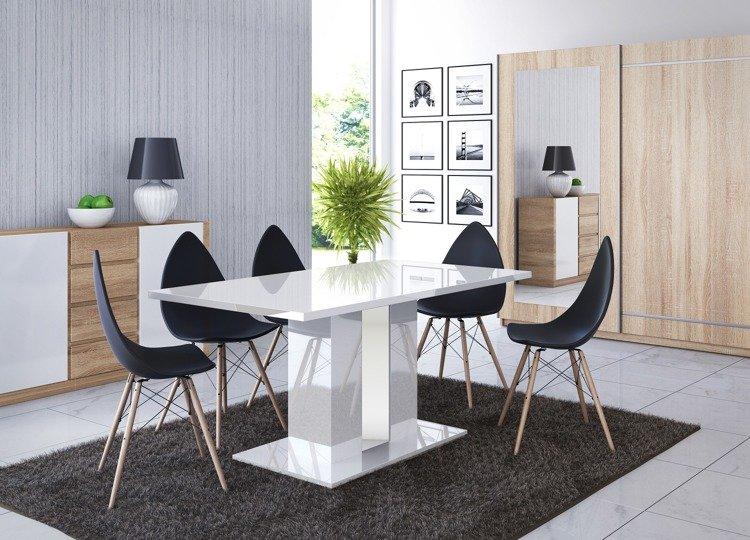 estetisk rektangulært spisebord