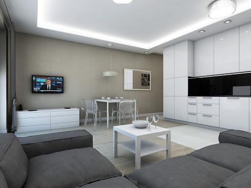 moderne stil av stue