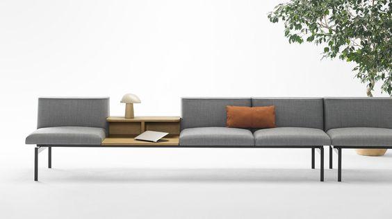 Sofa til kontor - moderne idea