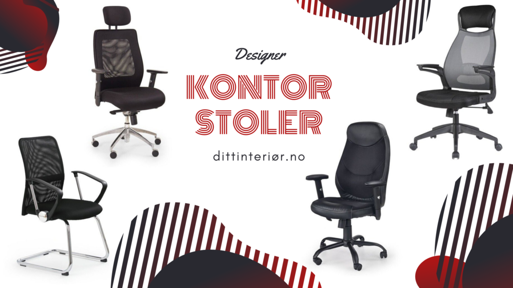 Designer kontorstoler